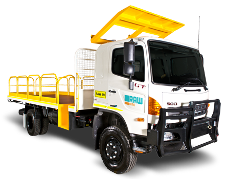 7T 4WD Single Cab Truck Hire