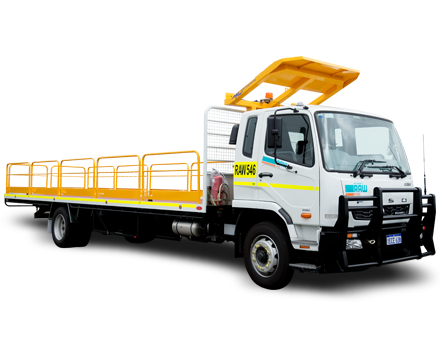 9T Single Cab Truck Hire