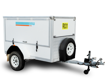 Luggage Trailer Hire