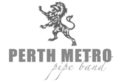 Raw Hire supports the Perth Metro Pipe Band