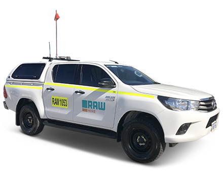 The Raw Hire 4WD Dual Cab Well Body with Canopy and In-Vehicle Monitoring System is available now for long term vehicle hire. Mobilised Australia wide.