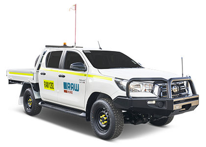 4WD Dual Cab Tray Back Ute Hire