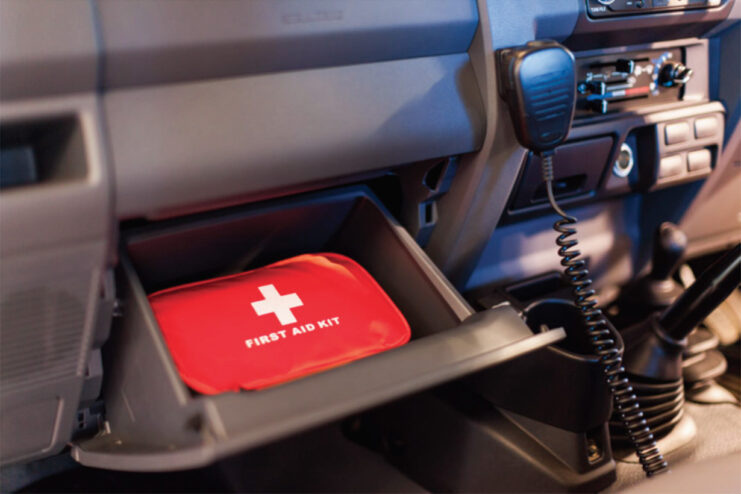 safety-first-aid-kit-and-uhf-radio